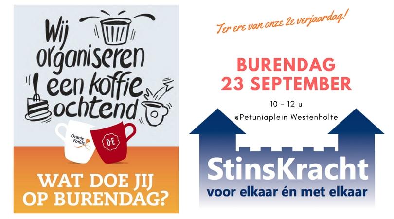 StinsKracht viert 2e verjaardag tijdens koffie-ochtend!