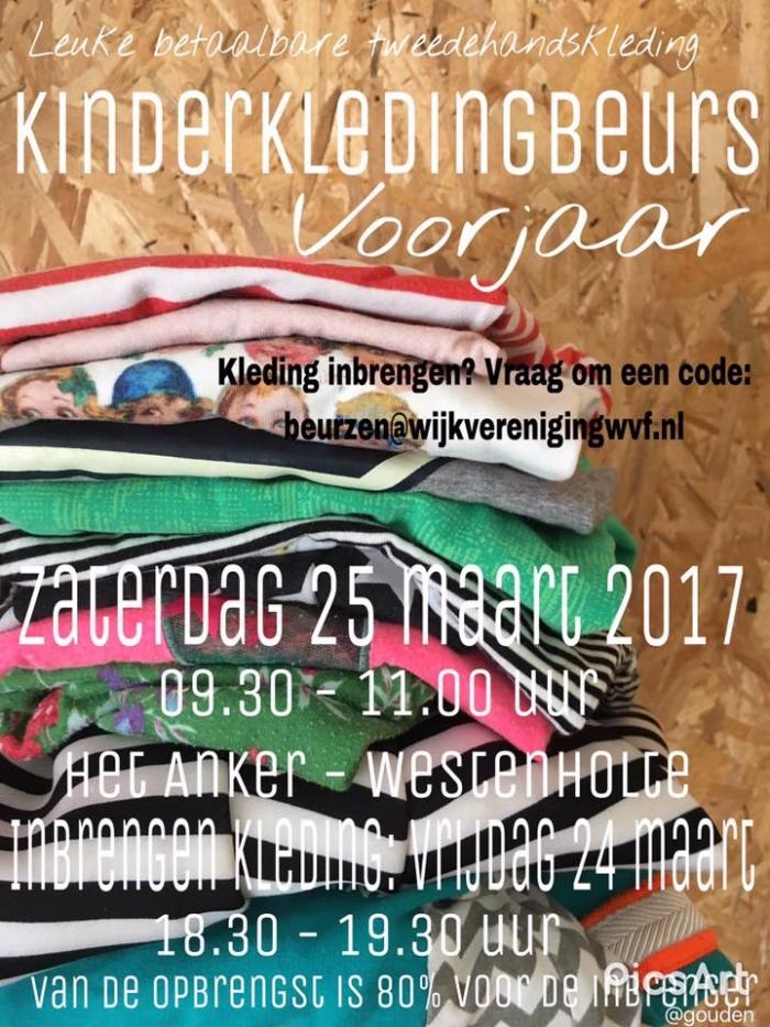 25 maart: Kinderkledingbeurs voorjaar