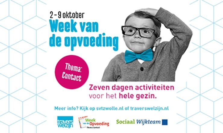 Programma Week v/d Opvoeding bekend