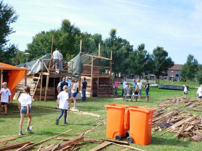 Vrijwilligers gevraagd voor Huttendorp 2017